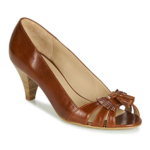 BOCAGE DESIRE Pumps dames Cognac pumps