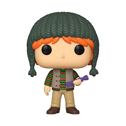 Funko- Pop Harry Potter: Holiday-Ron Weasley S11 Figura Coleccionable, Multicolor (51154)