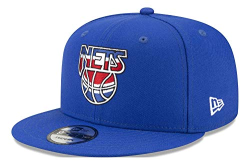New Era - Gorra NBA Brooklyn Nets Hardwood Classic Nights 9Fifty Snapback - Azul azul Talla única