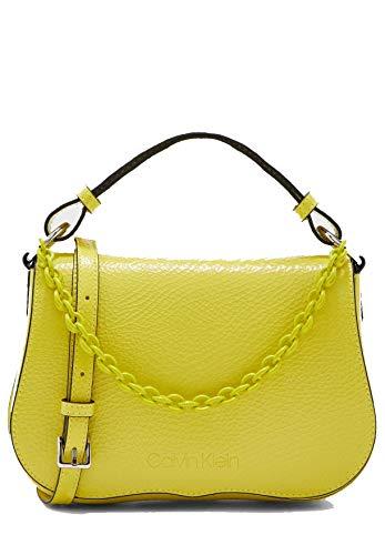 Calvin Klein AMERICANA SHOULDER CRMujerBolsos bandoleraVerde (Process Yellow) 15.2x5.0999999999999996x5.4 centimeters (B x H x T)