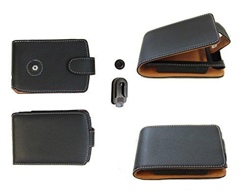 Ledertasche Palm 72: Tasche für Palm Palmone der Serien Zire 72 71 und Zire 21 31 - weitere kompatible Geräte Siehe Beschreibung. Mit Gürtelclip: Sicher stark und edel