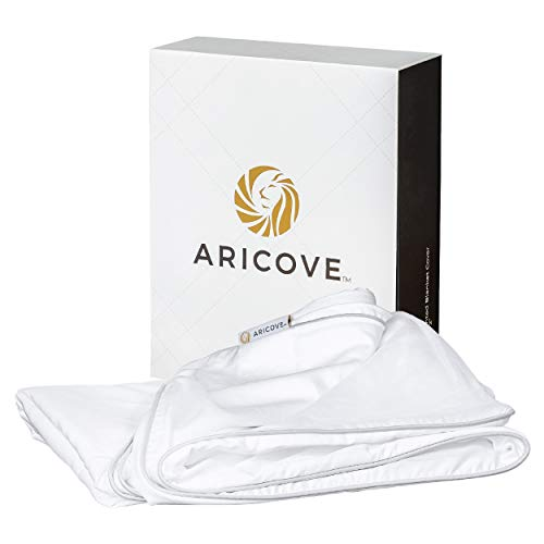 """Aricove Weighted Blanket Cover, 48""""x72"""",..."""