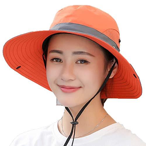 Sombrero de la pesca y la tapa con el sol de protección premium Sombreros for el sombrero del pescador hombres y mujeres unisex for hombre de las señoras Bucket Sombrero de sol de protección UV ZLSANV