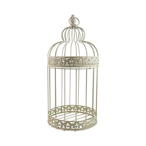 Grande gabbia per uccelli, decorazione per matrimonio, 29 cm