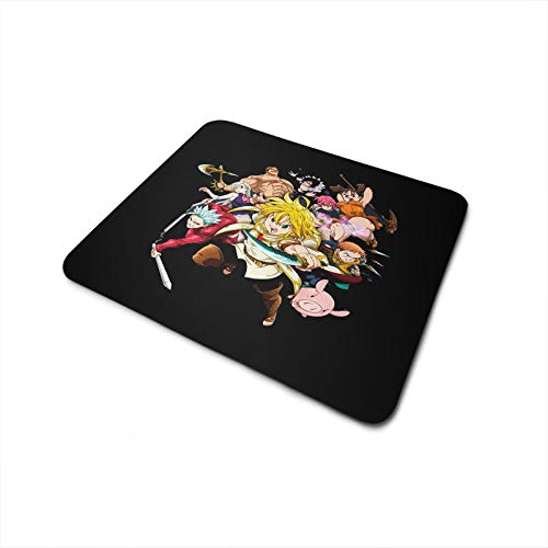Mouse Pad Antiderrapante The Seven Deadly Sins Personagens
