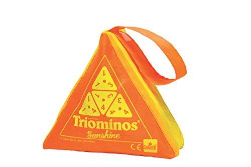 Goliath- TRIOMINS SUNSHINE - TRIOMINOS DE VERANO SURTIDOS, Color orange/violet (1)