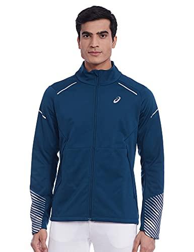 ASICS Men's Regular Jacket (2011A447_Mako Blue_M)