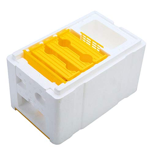 HomeDecTime Ernte Bienenstock Bestäubung Imkerei König Box für die Königinnenzucht Werkzeug Imkerei Ausrüstung