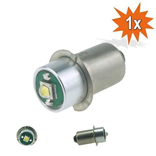 Do!LED P13.5s LED Cree Taschenlampe Lampe Weiss Birne 3 Watt 220 Lumen 3,2-9 Volt Gleichstrombetrieb DC