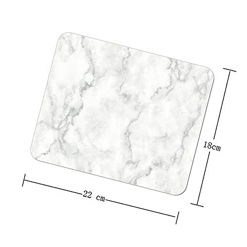Yilooom Mauspad 416-1, Cabana marmoriert, 9 x 7