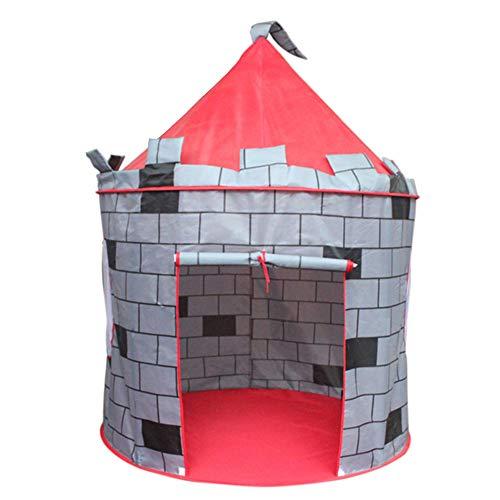 Speeltent Kinderen Kasteel Spel Huis Yurt Tipi Tent Binnen Buiten Tuin Strand Speelgoed Speelhuisje voor Jongens Meisjes Prins Prinses