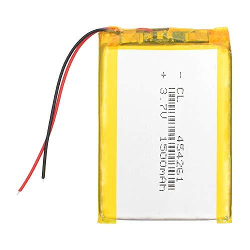 N/V Batería de polímero de Litio de 3,7 V baterías Recargables de Li-Po para MP4 MP5 GPS PSP cámara Bluetooth estéreo pequeño 1500 mAh 4Pcs