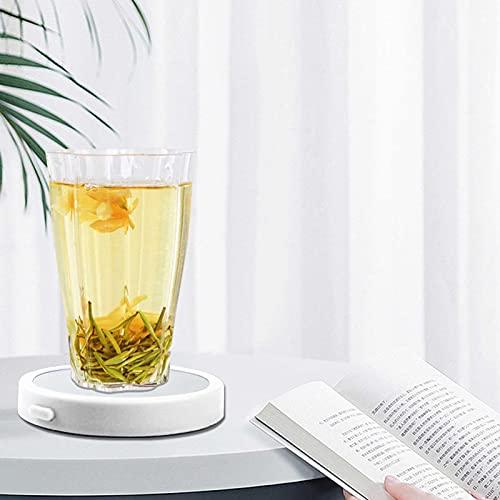 Gidenfly Heizmatte für Tassen, Kaffee, elektrisch, automatisch, 3,3 Zoll mit 1,2 m USB-Kabel, Temperatur 90-100 °