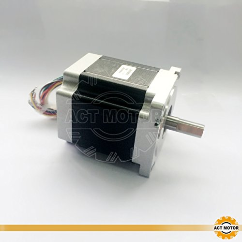 Act Motor GmbH 1pezzi nema34motore passo-passo 34hs9820Stepper Motor 2.0a 98mm 9.5.NCM macchine Impianti di imballaggio