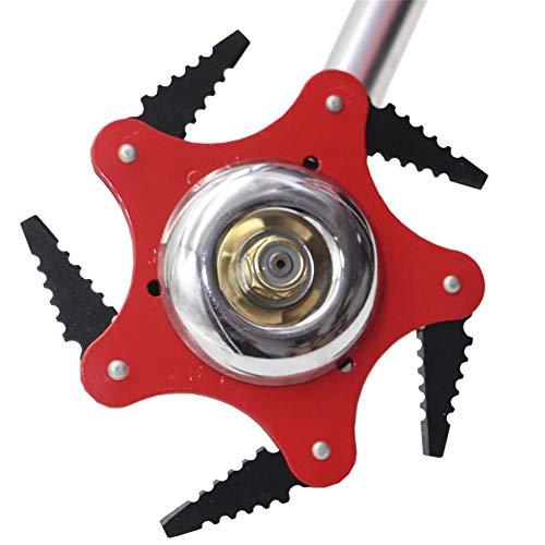 Trimmer Testina Di Taglio Trimmer Testina Di Ricambio 5 Lame In Acciaio Rasoi 65mm / 25.56 In Trimmer Taglierina Per Testa (Kit Adattatore Incluso)