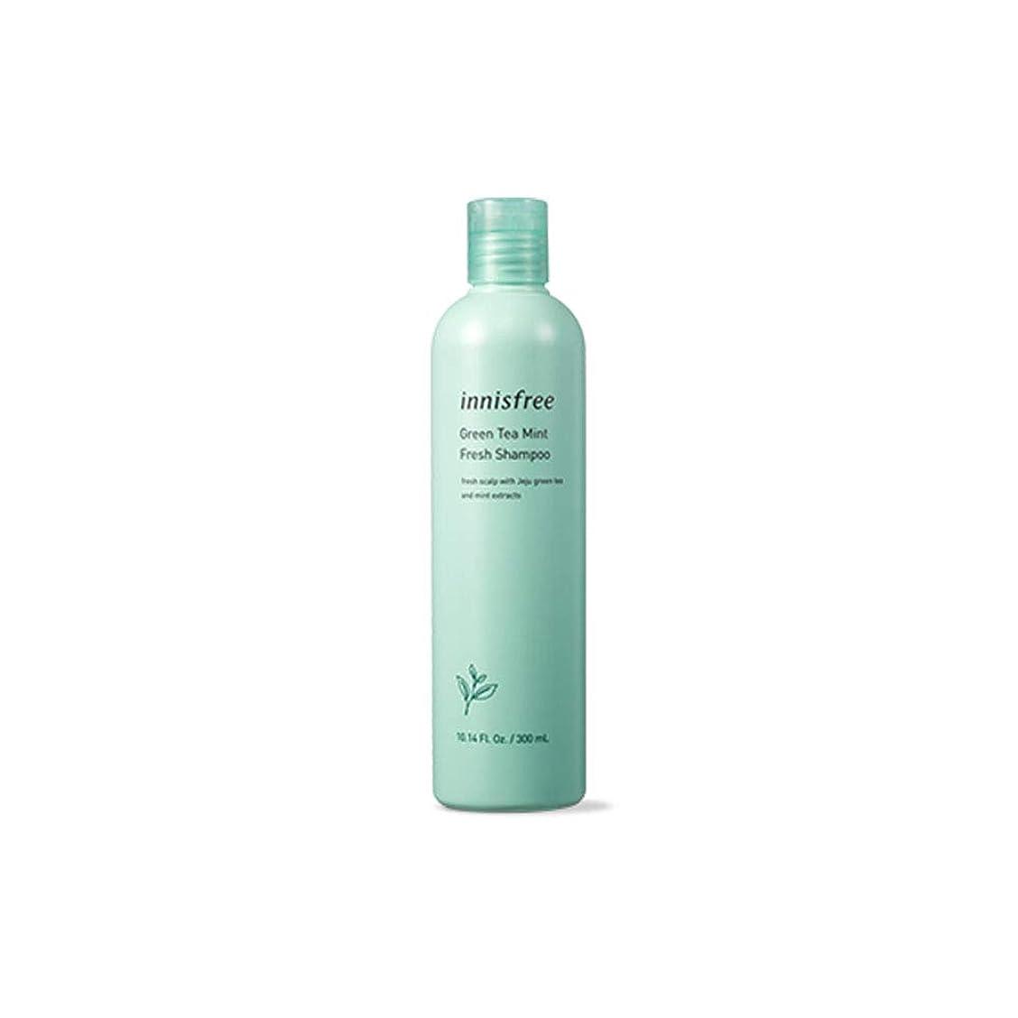 アジア人不快な管理者イニスフリー Innisfree 緑茶ミントフレッシュシャンプー(300ml) Innisfree Green Tea Mint Fresh Shampoo (300ml) [海外直送品]