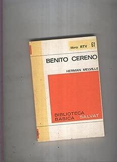 Biblioteca Basica Salvat libro RTV numero 061:Benito cereno( numerado 1 en interior cubierta)