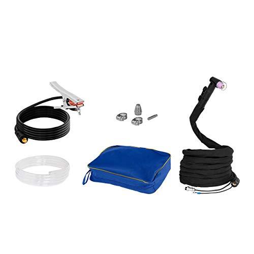 Stamos Power – S-CUTTER 70-3PH – Plasmaschneider (20-70 A, 400 V,20 mm Schneidleistung, Pilotzündung + Zubehör) schwarz - 4