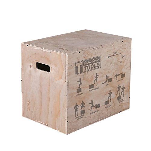 Body-Solid Tools Plyobox van hout