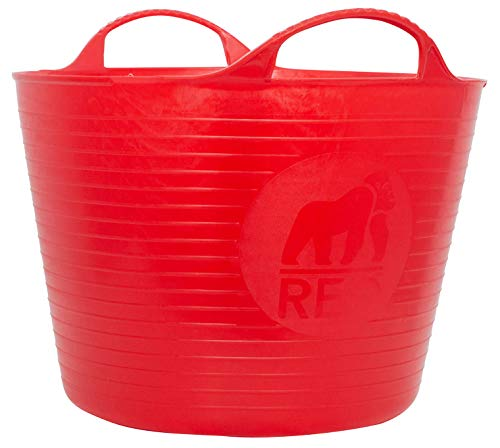 Save %31 Now! TUBTRUGS Small 10 Tub, 3.5 gallon, Red