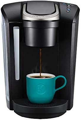 Cafetera para una taza Keurig K-Select con cápsulas K-Cup, color negro mate, talla única , Negro mate