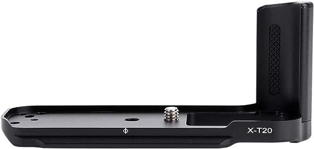 Qinlorgo For FUJIFIL M X-T20 X-T10 Vertical L-Bracket Aluminum Alloy  ...