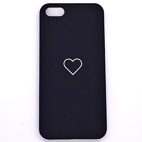 Luxury Slim cute Heart PC Cover posteriore custodia antiurto per Apple iPhone iPhone SE 5s 5 Cruz V2 Fresh Foam