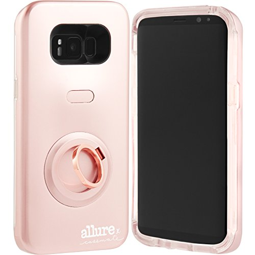 Case Mate Allure Selfie Custodia per Samsung Galaxy – Oro Rosa, Rose Gold, Samsung Galaxy S8+