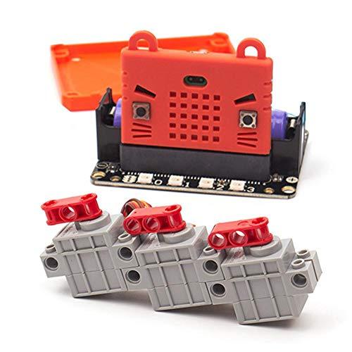 Motor Kompatibel Mit LEGO Bricks 9g Lenkgetriebe Robotbit Geek Servo-Programmierung Motor Building Block Zubehör Makecode-Programmierung