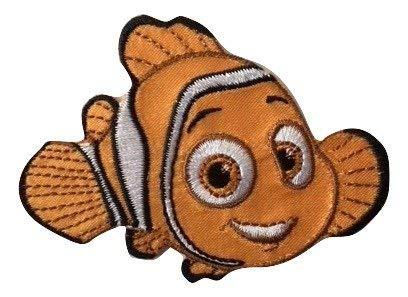 Disney Buscando a Dory Parche Nemo Decorativo Termoadhesivo 7,5 x 5,5 cm