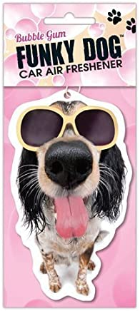 Funky Dog Bubble Gum  Air Freshener