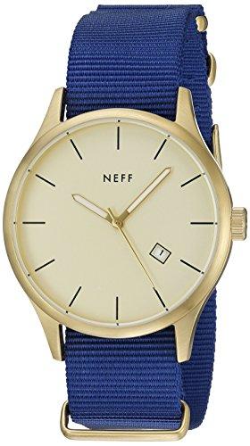 Neff NF0236GDBL - Reloj de Pulsera Hombre, Color Azul