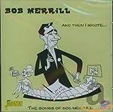 """album cover: Bob Merrill, """"And Then I Wrote"""""""