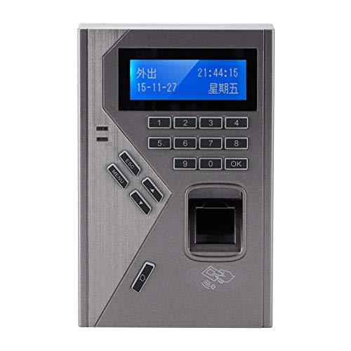 Control de acceso por huella dactilar, tiempo de asistencia con chip inteligente Múltiples métodos de reconocimiento para el hogar