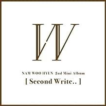 Infinite Nam Woohyun - [Second Write] 2nd Mini Random CD+Booklet+PhotoCard+Bookmark K-POP Sealed