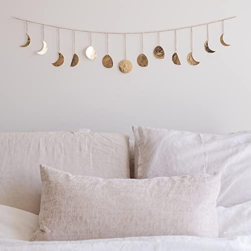 Moon Phase Wall Hanging Handmade Ha…