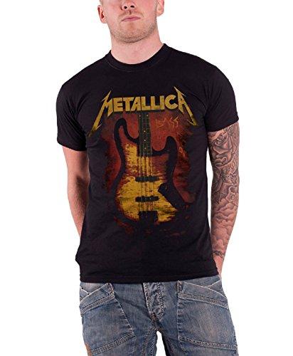 Live Nation - T-shirt Homme Metallica - Bass Of Doom - Noir (Black) - Medium