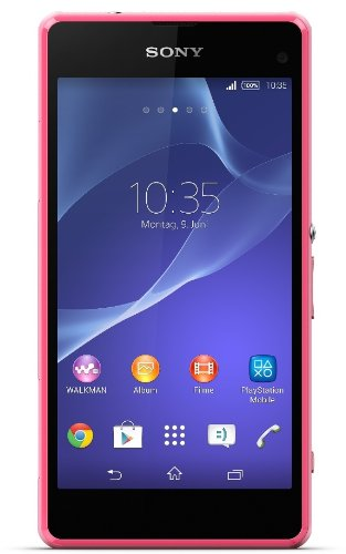 Sony Xperia Z1 Compact Smartphone (4,3 Zoll (10,9 cm) Touch-Display, 16 GB Speicher, Android 4.3) pink