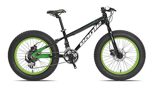 Tecnobike – Fat MTB Bike – All Around MTB – All Terrain – 20 pulgadas – negro/verde