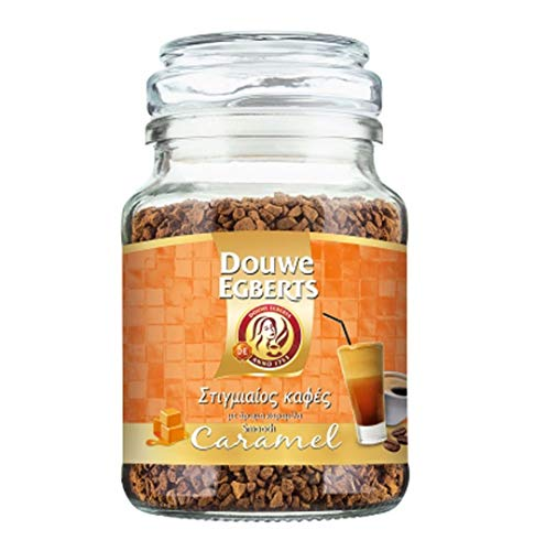 Douwe Egberts Instant Coffee Smooth Caramel Flavour - 1 Packung mit 95 g