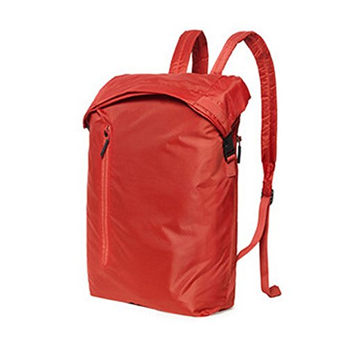 Hiking Daypack, Entour 90FUN Hiking Backpack, Foldable Light-weight Water-resistant 20L Sackpack for All Indoor Outdoor Sports Red