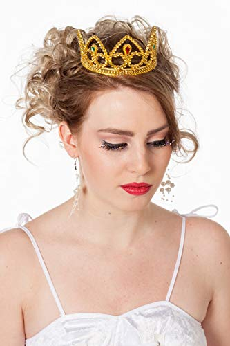 Couronne Plastique Or - Taille Adulte
