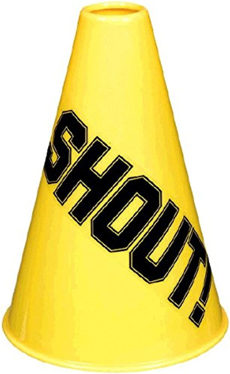 Amscan Megaphone Party Accessory, Yellow