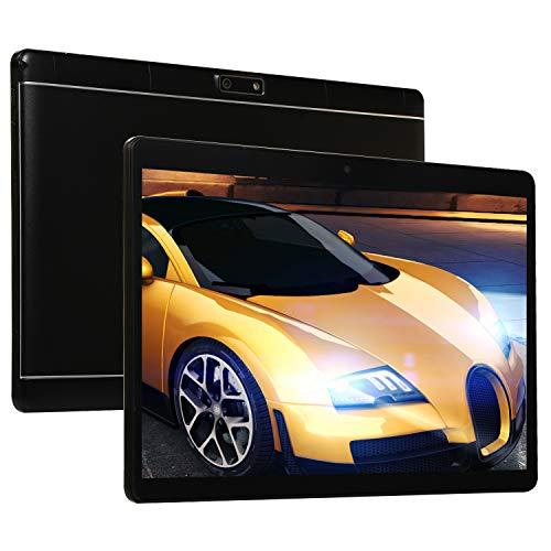 4G Tablets 10 Pulgadas 3GB RAM 64GB Memoria Android 8.0 Tablet con Dual SIM 8.0 MP Cámara Quad Core Batería de 7000mAh WiFi,Bluetooth,GPS, Netflix