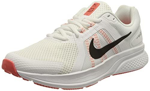 Nike Run Swift 2, Zapatillas para Correr Mujer, White Black Magic Ember, 44 EU