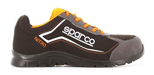 Sparco Scarpe Antinfortunistici Da Lavoro, Multicolore (Nero / Grigio), 43 EU, 1 Pezzo