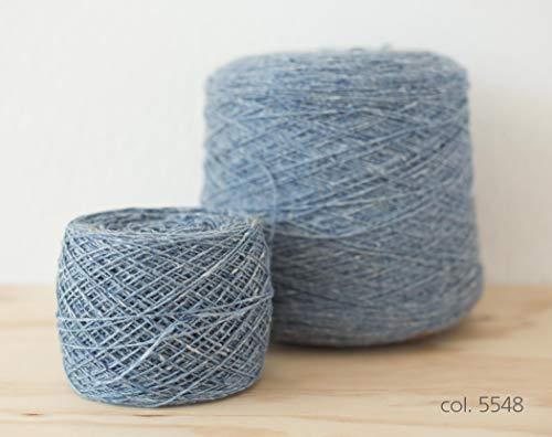 Knoll Soft Donegal Tweed, Merino Wool Blue / 100% Merino Wolle Blau (5548), 100g