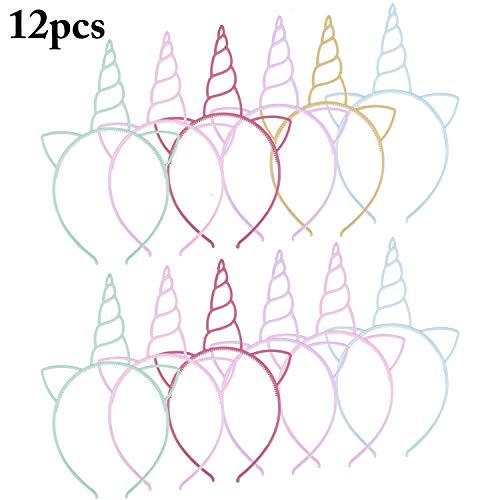 Fascigirl Einhorn Elch Geweih Led Katzenohren Stirnbänder Horn Haarband Für Kinder Halloween Weihnachtsfeier (Einhorn) (Einhorn)