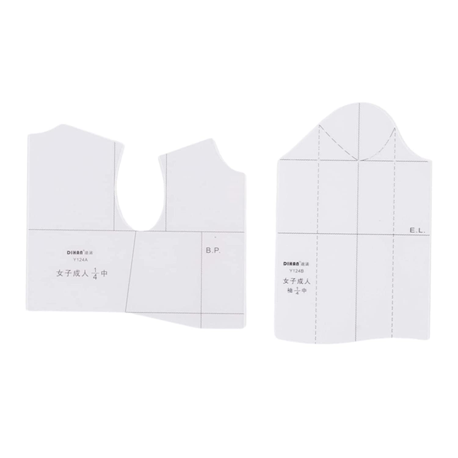shamjina Cloth Design Ruler Sewing Fashion All items in the store Tool Direct store 1:4 1:5 fo