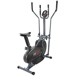 Diseñada para ejercitar el 80% de los músculos de tu cuerpo sin producir impacto sobre las articulaciones Sistema de resistencia magnética regulable a 8 niveles para un pedaleo suave y estable Pedales antideslizantes de gran tamaño Modalidad elíptica...